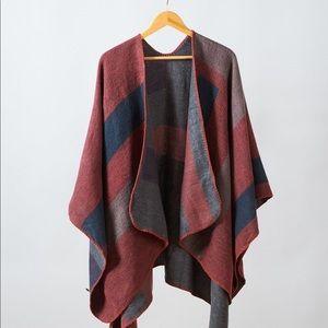 Poncho Wrap/ Blanket Scarf